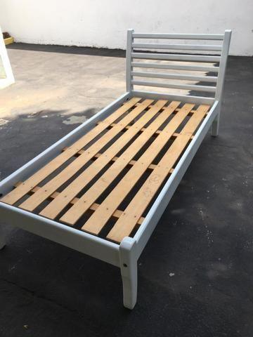 Cama de madeira solteirão - Foto 2