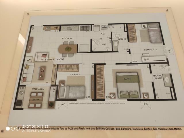Apartamento Grand Park Varandas ITBI e Cartório grátis - Foto 10