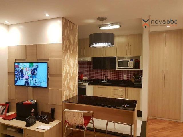 Apartamento com 2 dormitórios para alugar, 50 m² por R$ 1.350/mês - Parque Erasmo Assunção - Foto 9