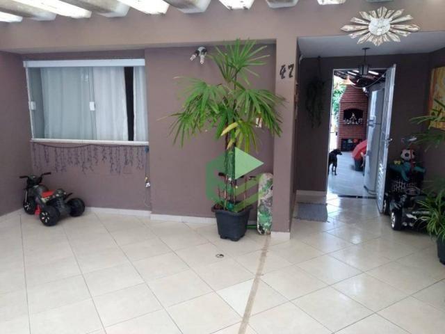 Casa com 2 dormitórios à venda, 113 m² por R$ 520.000 - Jardim São Paulo - São Bernardo do - Foto 3