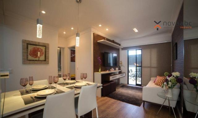 Apartamento com 2 dormitórios e varanda gourmet para alugar, 70 m² em condomínio completo