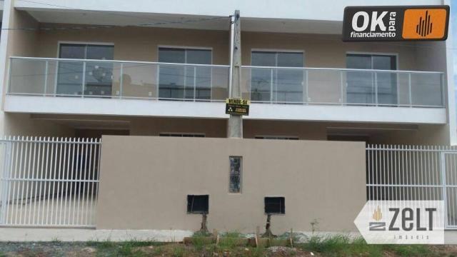 Sobrado à venda, 92 m² por R$ 259.000,00 - Itacolomi - Balneário Piçarras/SC