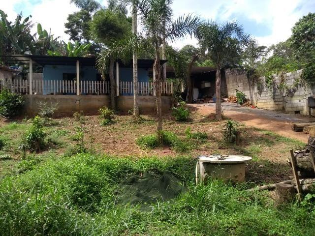 Terreno 400 m2 com casa no Bairro Ressaca. 8 Km do centro de Embu Das Artes - Foto 2