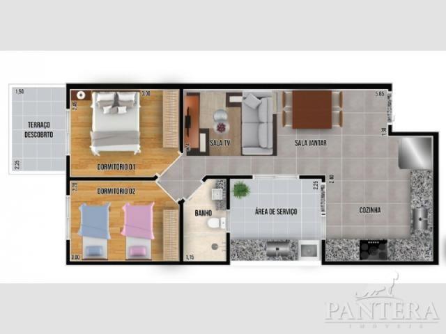 Apartamento à venda com 2 dormitórios em Santa maria, Santo andré cod:56269 - Foto 11