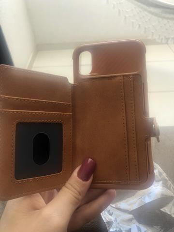 Capinha ( carteira) iPhone X e Xs - Foto 2