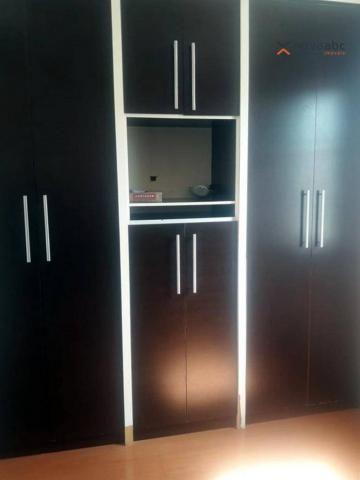 Apartamento com 2 dormitórios para alugar, 56 m² por R$ 1.200/mês - Utinga - Santo André/S - Foto 11