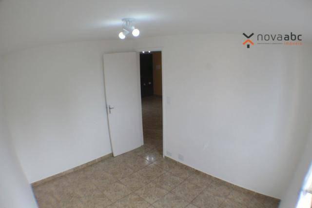 Apartamento com 2 dormitórios para alugar, 50 m² por R$ 1.020/mês - Vila Camilópolis - San - Foto 14
