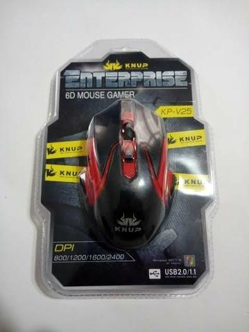 Mouse gamer kp, sensor DPI 2400 e Design totalmente ergonômico - Foto 5