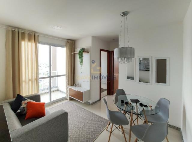 Apartamento decorado com 2 quartos e 1 suíte pronto para morar!