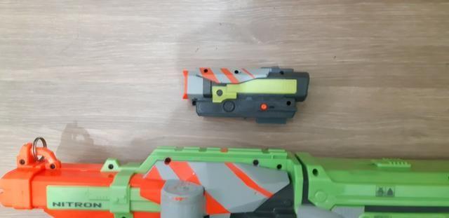 Nerf Nitron Usada (funciona) - Foto 4