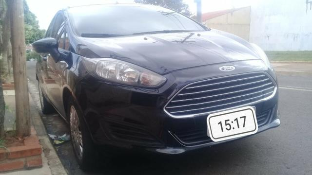 New fiesta hatch 1.5 2014 completo impecável - Foto 2