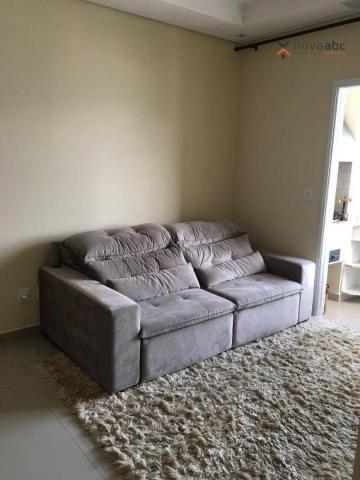 Apartamento com 2 dormitórios para alugar, 63 m² por R$ 2.100/mês - Campestre - Santo Andr - Foto 2