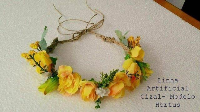 Tiara de Flores Exclusiva - Foto 4