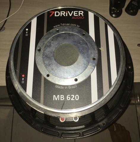 MB 620 12 polegadas 8 ohms 620 rms - Foto 3