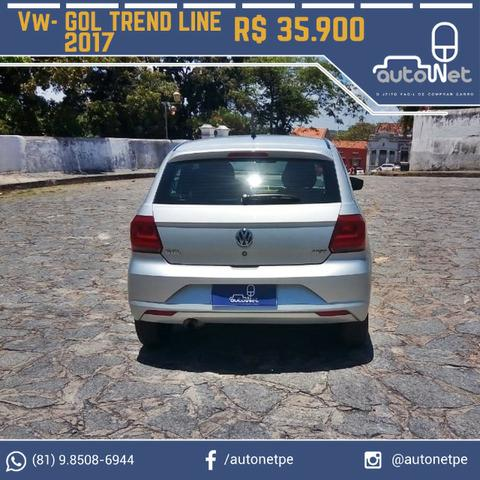 VW- Volkswagen Gol TrendLine 1.6 - Carro Excelente!!! - Foto 4