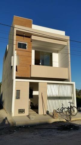 Casa nova 3/4 com garagem em Santo Antonio de Jesus nova recém construída nunca habitada
