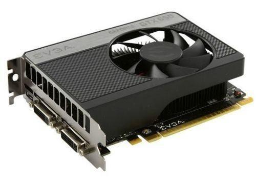 Placa de video GTX 650 1gb
