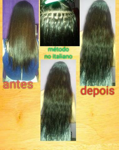 Colocação e Manutenção de Mega Hair