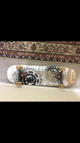 Skate completo profissional shape element truck independente