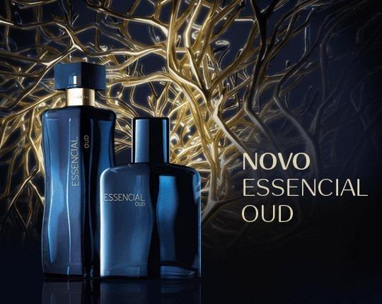 Perfume masculino Natura essencial oud