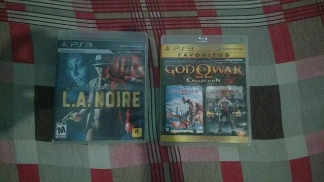 L.A.Noire e God Of War collection 2 em 1