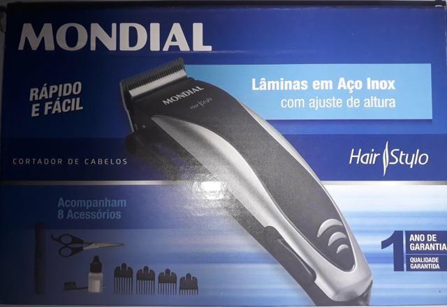 Cortador de cabelo MONDIAL NOVO