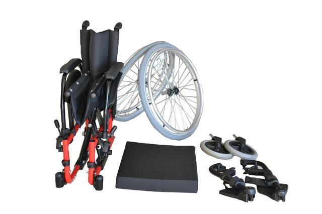 Cadeira de rodas ortobras - Foto 3