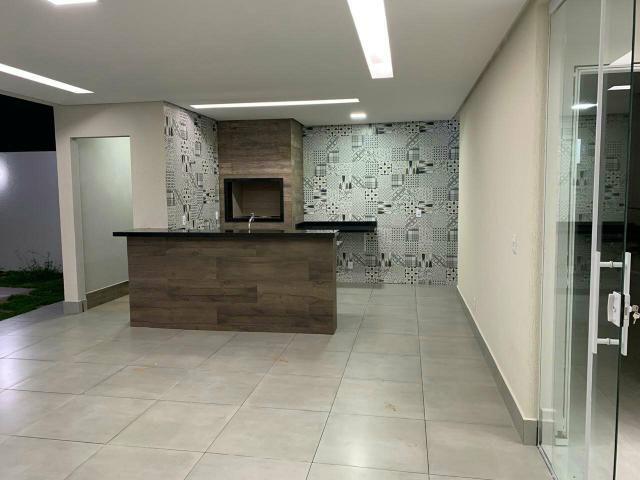 Casa nova 3quartos 3suites piscina churrasqueira rua 12 Vicente Pires condomínio fechado - Foto 8