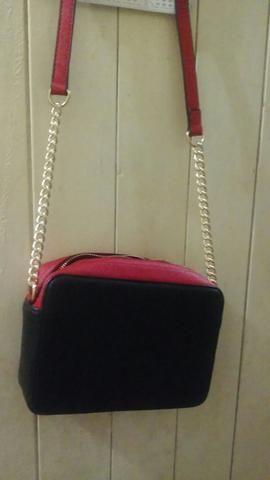c0f21a0b1 Bolsa social pequena (couro sintético) - Bolsas, malas e mochilas ...