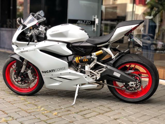 Ducati panigale 959 branca 2017 2.000km - Foto 5