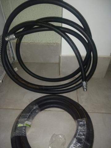 Mangueira Bomba Combustível/gasolina 3/4 C/ Conexões (5 Mts) - Foto 2