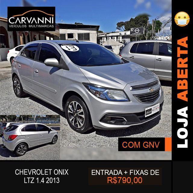 Chevrolet Onix LTZ 1.4 2013 Completo com GNV