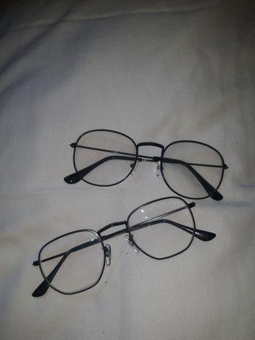 Armação de óculos preta - Foto 2