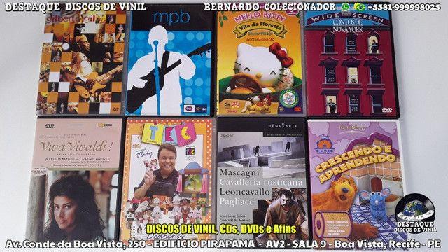 CDs, DVDs e Discos de Vinil Variados, Venha Cinhecer Nosso Acervo - Foto 3