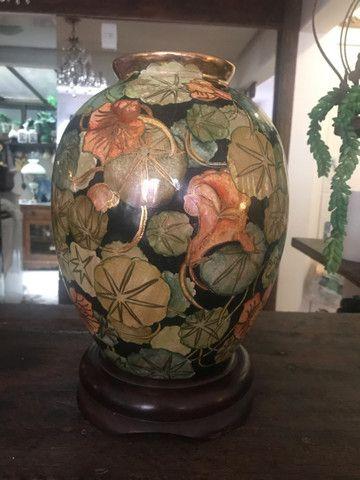 Espectacular vaso pintado a mão !