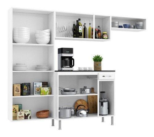 Oferta Boa Demais Cozinha Completa com Balcão em Aço Nova na Caixa!!! - Foto 2