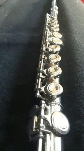 Flauta nova com case