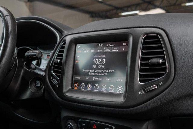 Jeep Compass 2018 longitude diesel 4x4 com pacote premium IPVA 2021 PAGO - Foto 12