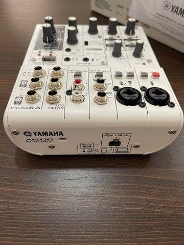 Mesa de som e interface Yamaha AG 06 - Foto 3