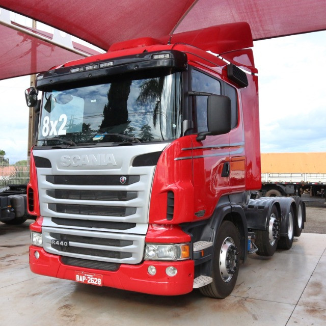 Scania R 440 - 2013/13 - 8x2 (BAP 2628) - Foto 3