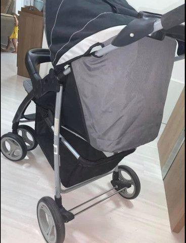 Carro de bebê novíssimo!  - Foto 3