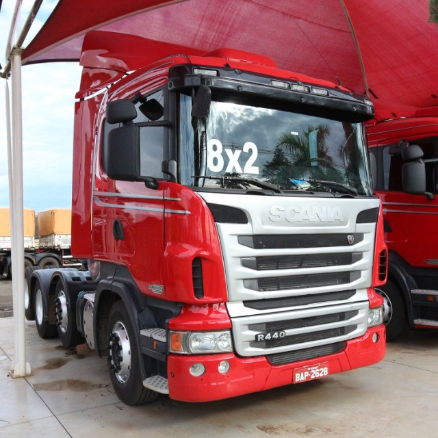 Scania R 440 - 2013/13 - 8x2 (BAP 2628) - Foto 2