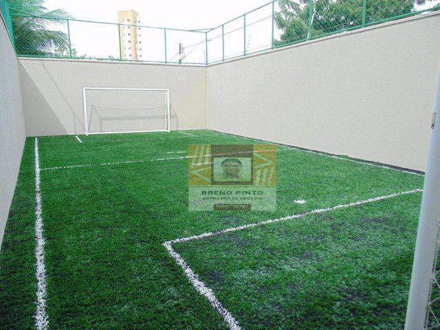 Apartamento com 2 dormitórios à venda, 72 m² por R$ 419.000,00 - Guararapes - Fortaleza/CE - Foto 3