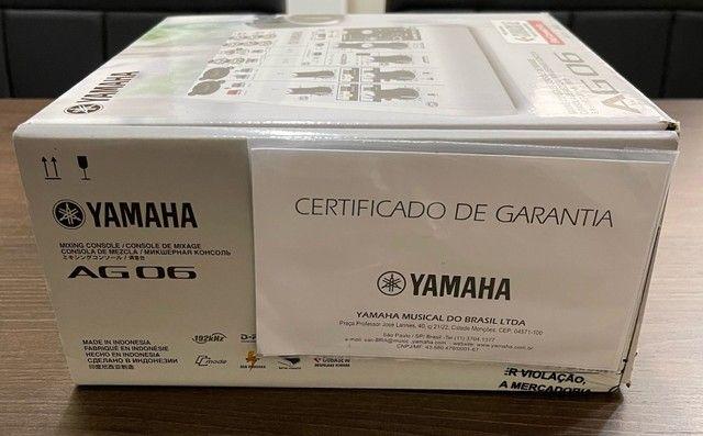 Mesa de som e interface Yamaha AG 06 - Foto 6