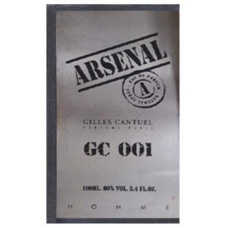 Perfume Arsenal Gc 001 100ml Gilles Cantuel - Foto 2