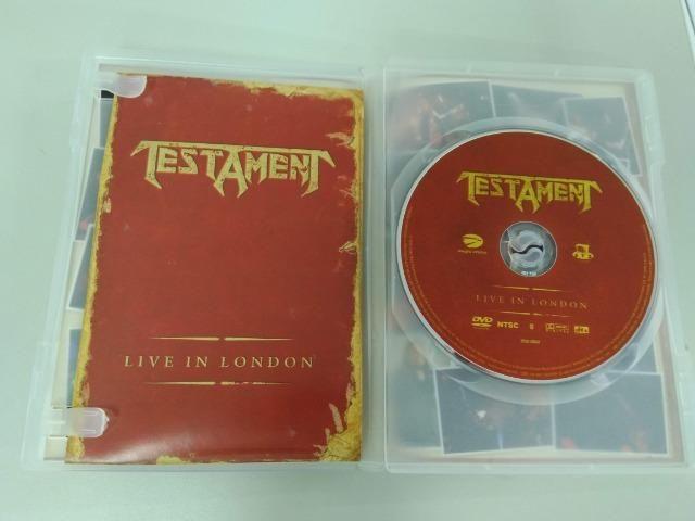 Dvd Testament - Live In London