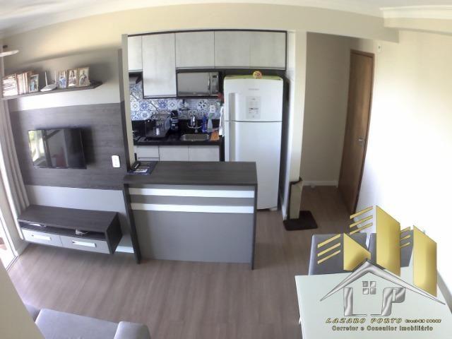 Laz - Apartamento com varanda e com modulados em Manguinhos - Foto 8