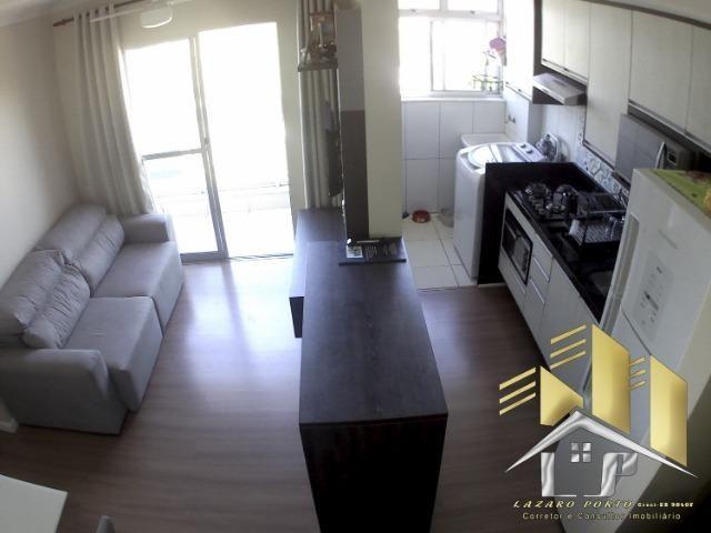 Laz - Apartamento com varanda e com modulados em Manguinhos - Foto 7