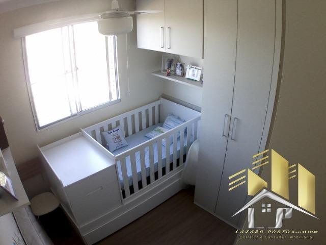 Laz - Apartamento com varanda e com modulados em Manguinhos - Foto 14