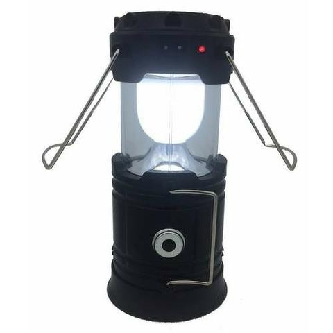 Lampião Luminária Elétrico Recarregável Solar Led Lançamento - Foto 3